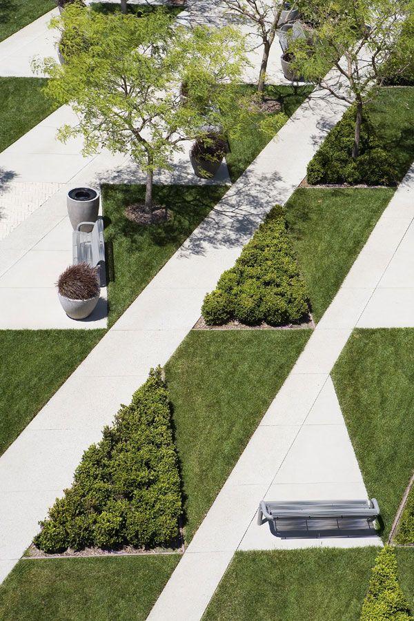 Image gallery landscape plaza hex for Landscape architecture canada