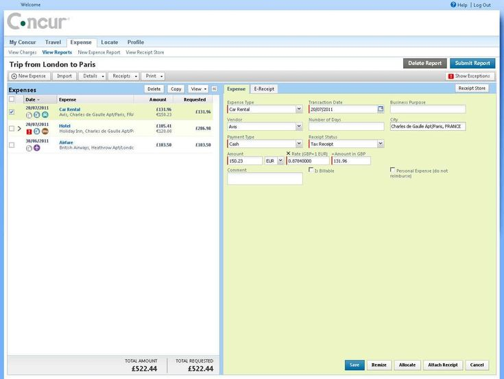 The stunning excel per diem formula and business expense