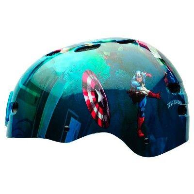 Captain America The First Avengers Child Helmet - Blue