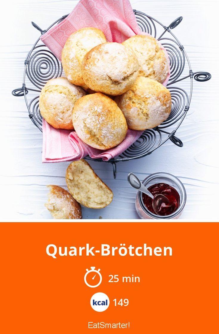 Quark-Brötchen