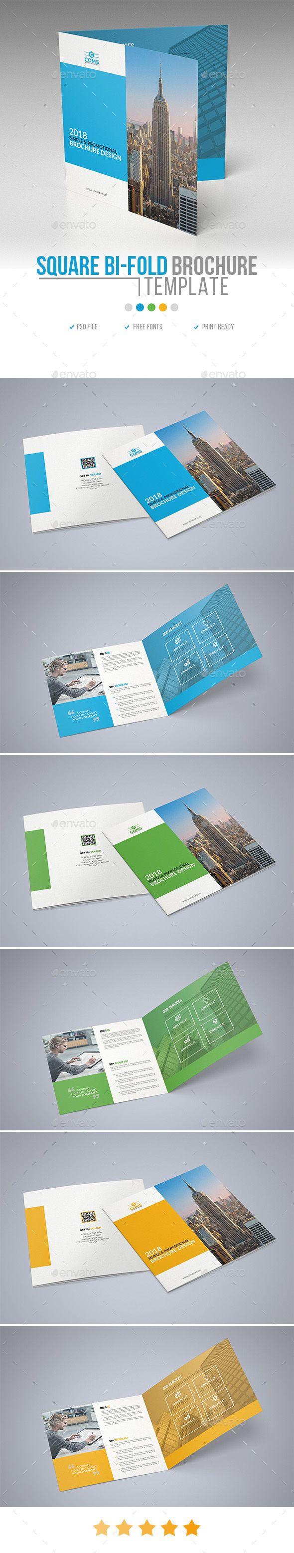 The Best Bi Fold Brochure Ideas On Pinterest Tri Fold - Free bi fold brochure template