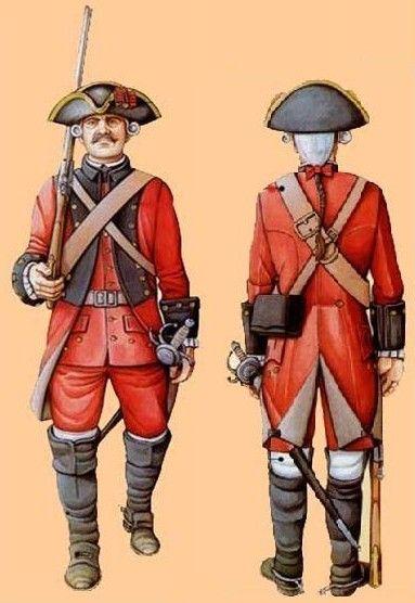España 1766 Línea
