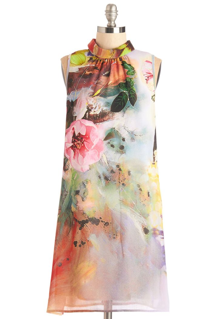 Centerpiece and Quiet Dress, #ModCloth