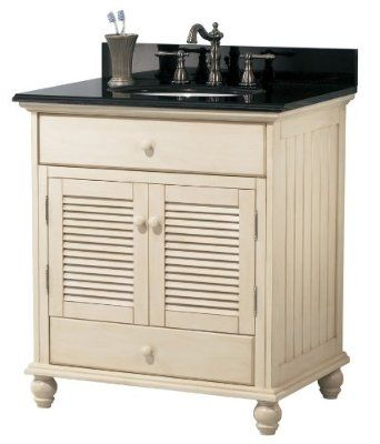 Contemporary Art Websites Foremost Cottage Vanity Cabinet Only in Antique White traditional bathroom vanities and sink consoles
