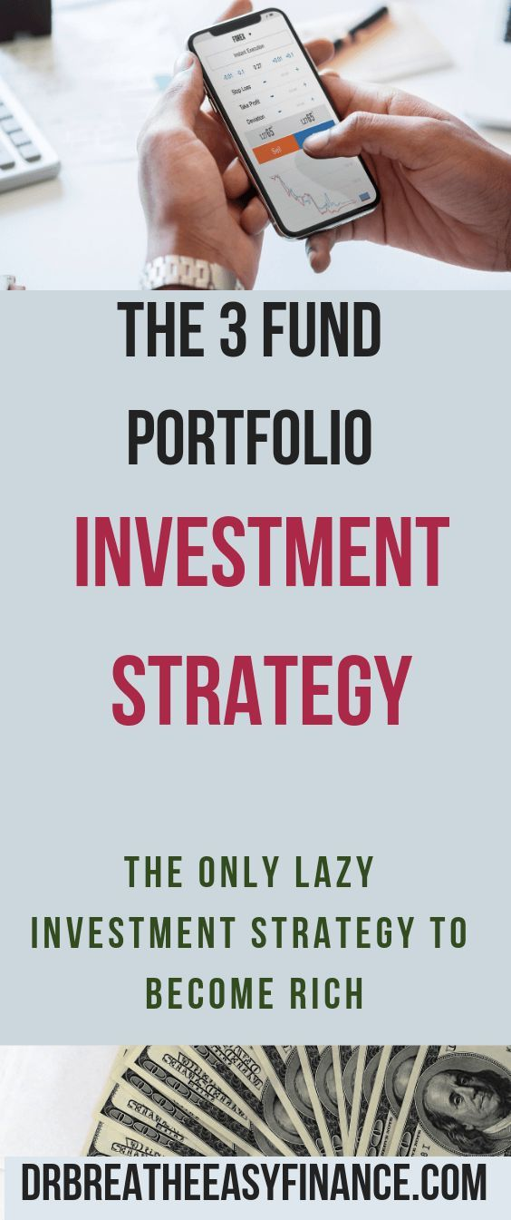3 Fund Portfolio Investment Strategy: The Only Time Its Cool To Be Lazy In Personal Finance