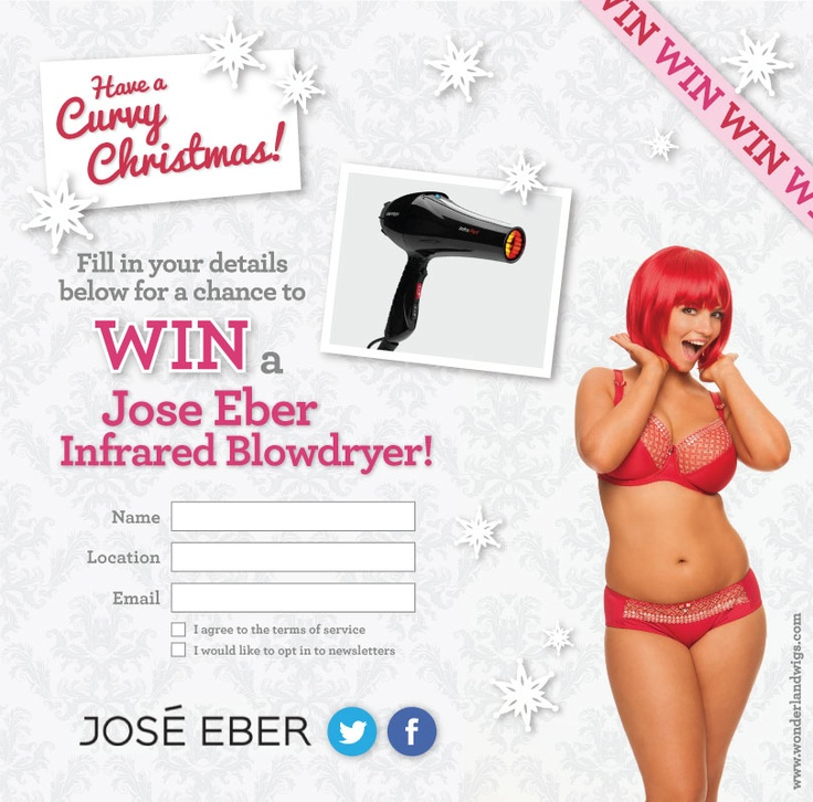 Win with Jose Eber on our US Facebook page!
