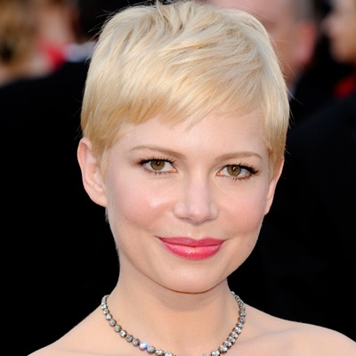 K Michelle Short Hairstyles 2012 Michelle Williams at the 2012 Oscars | Oscars Beauty | Pinterest