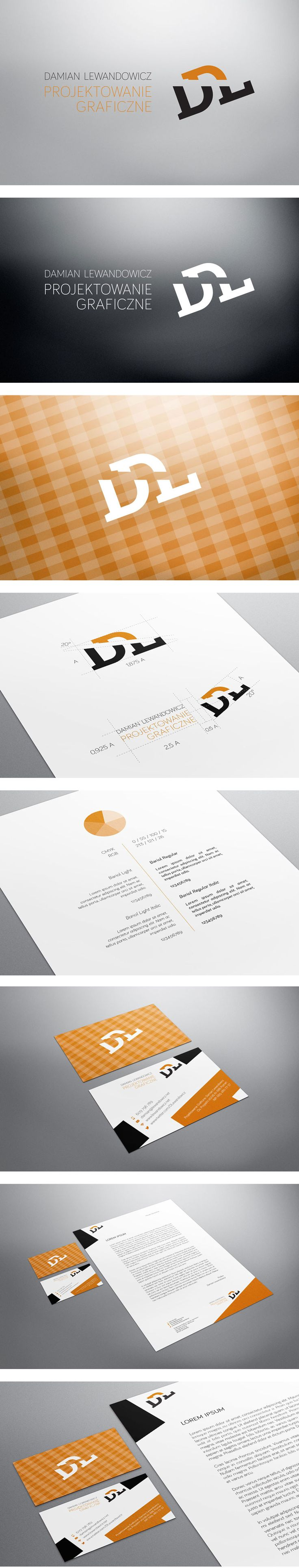 Corporate Identity for my own company. Project included brand new logo based on monogram and cohesive identity design from business cards to new website.
