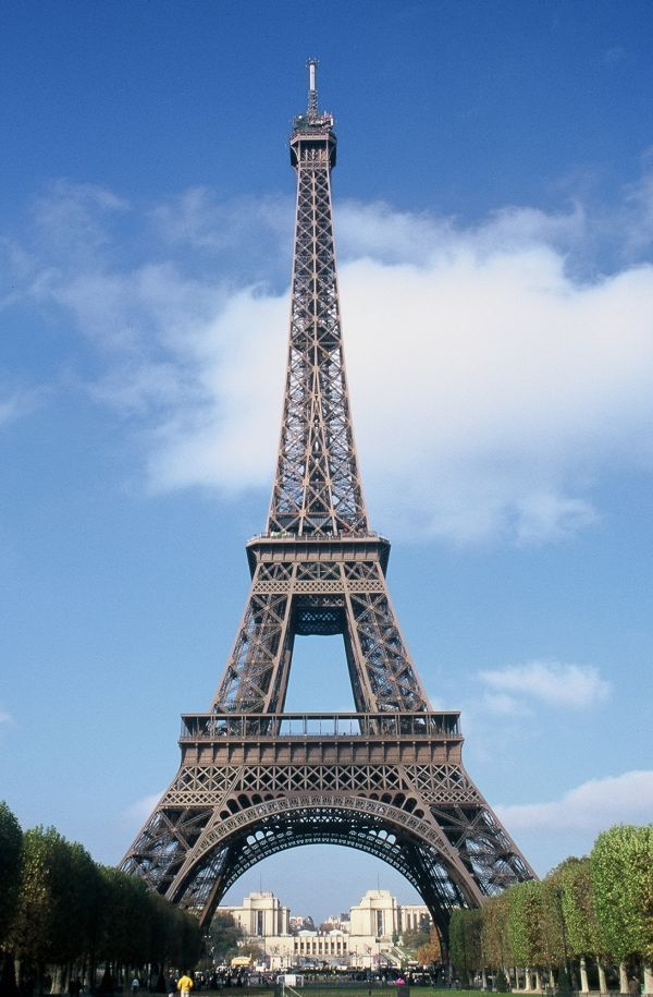 Eiffel Tower, Paris, built in 1889