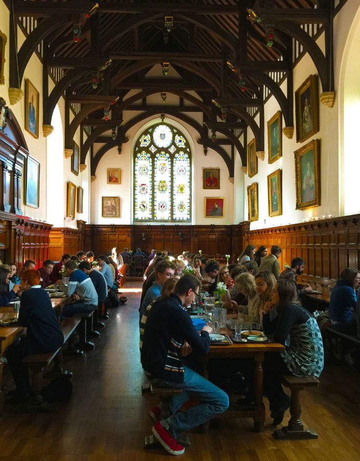 Our incredible hall makes a memorable start to your B&B day. Details of our rooms at www.univ.ox.ac.uk