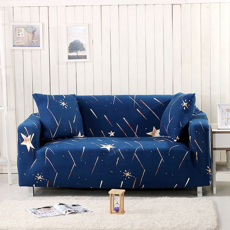 {USD30 90}Sofa Cover Print With Meteor Shower 100% Polyester Beautiful And