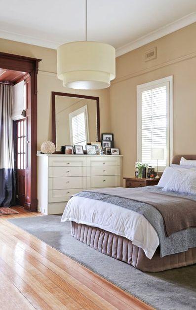 Stylish Federation Home Melbourne - Master bedroom