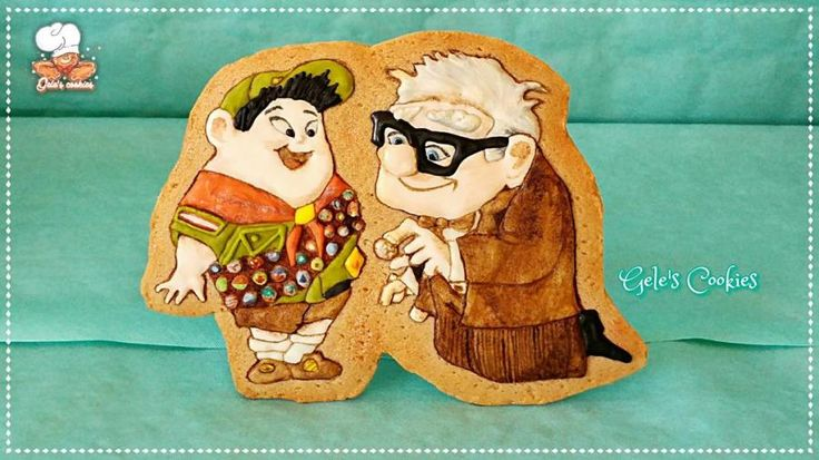 EDITOR'S CHOICE Russell and Mr.Fredricksen - Up - cookie by Gele's Cookies