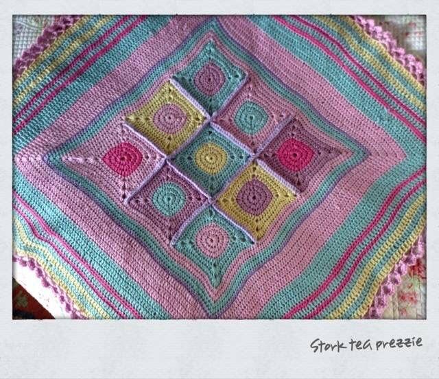 Crochet blanket circles.... By Kari