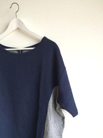 Cotton Jacquard x Linen Tunic