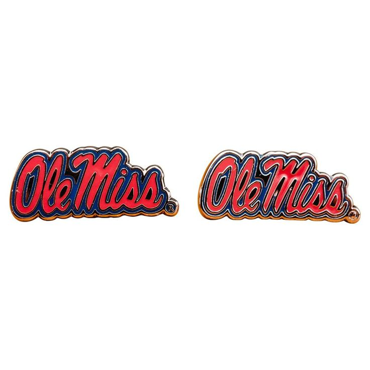 Ole Miss University Rebels Cufflinks