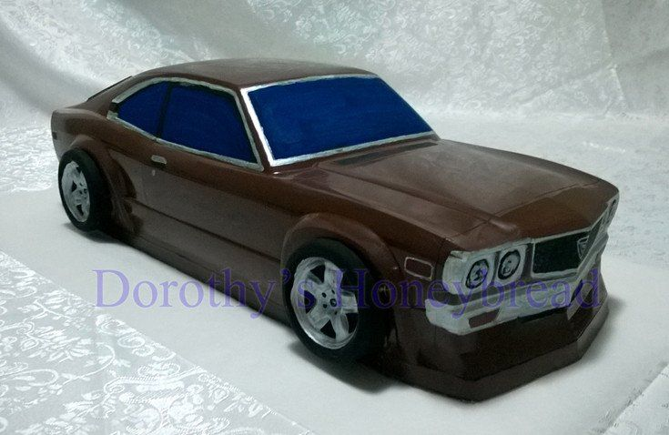Mazda RX-3 Extra Large scale