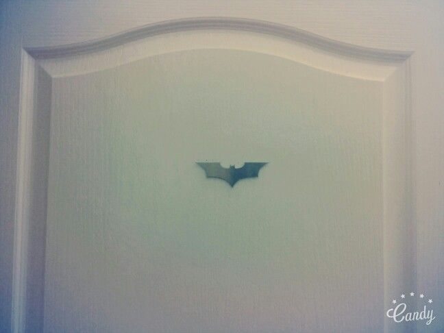 The Dark Knight symbol Metal cutout