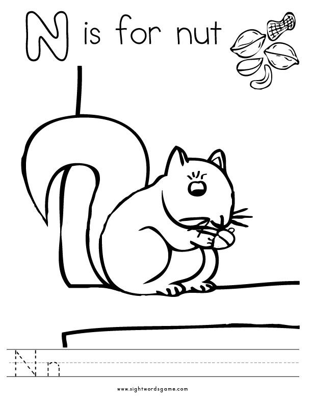 Alphabet Coloring Pages And Worksheets Are Fun Activities That Assist Your Child In Learning The Name Shape Common Sound For Letters Of T