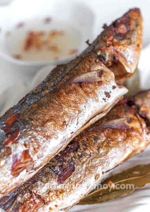 Fried fish adobo recipe fried fish fish and filipino food for Filipino fish recipes