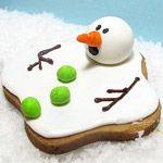 Countdown to Christmas: Crafts, Food and DIY GiftsChristmas Parties, Holiday, Ideas, Christmas Cookies, Melted Snowman, Food, Decor Cookies, Cookies Recipe, Snowman Cookies
