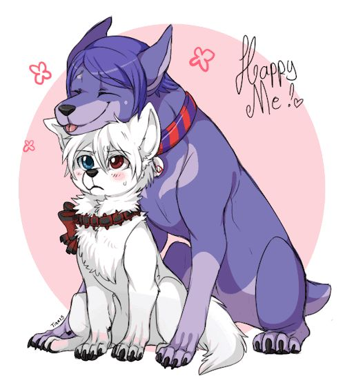 Kaneki Ken x Shuu Tsukiyama version dog