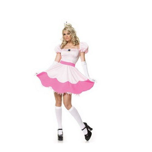 Princess Peach (super Mario) available to hire size 12