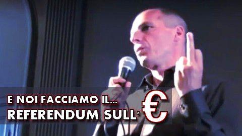 E Noi Facciamo Il Referendum Sull Euro