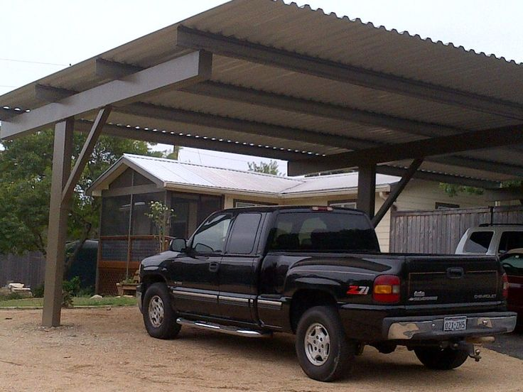 Modern Carport Kit United States : Best ideas about cantilever carport on pinterest