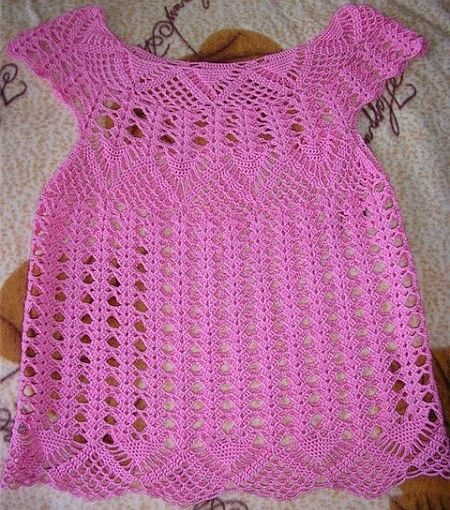 summer blouse crosetata