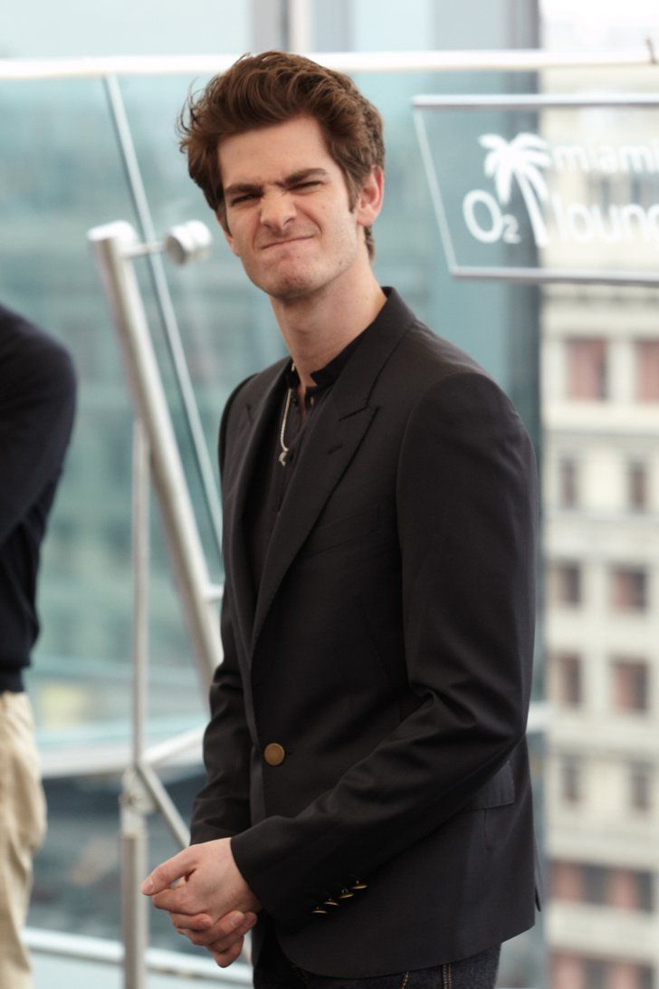 Pin for Later: 30 Times Andrew Garfield Totally Hammed It Up For the Camera