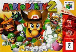 Mario Party 2 - N64. hahaha sibling rivalry fuel