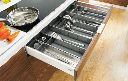 Tandembox Drawer With Orga Line For Kitchen Utensils Need One Of These For Our Kitchen Drawers