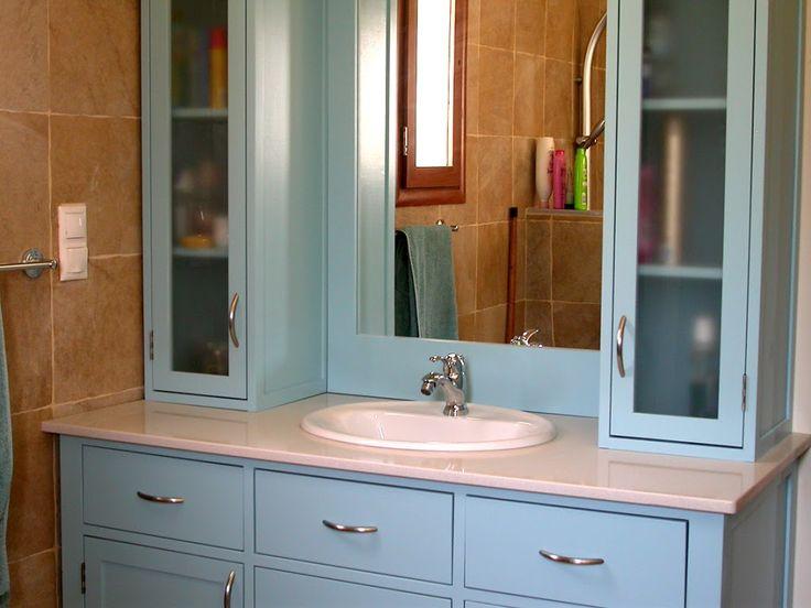 Best Bathroom Medicine Cabinets Images On Pinterest - Custom built bathroom vanity for bathroom decor ideas