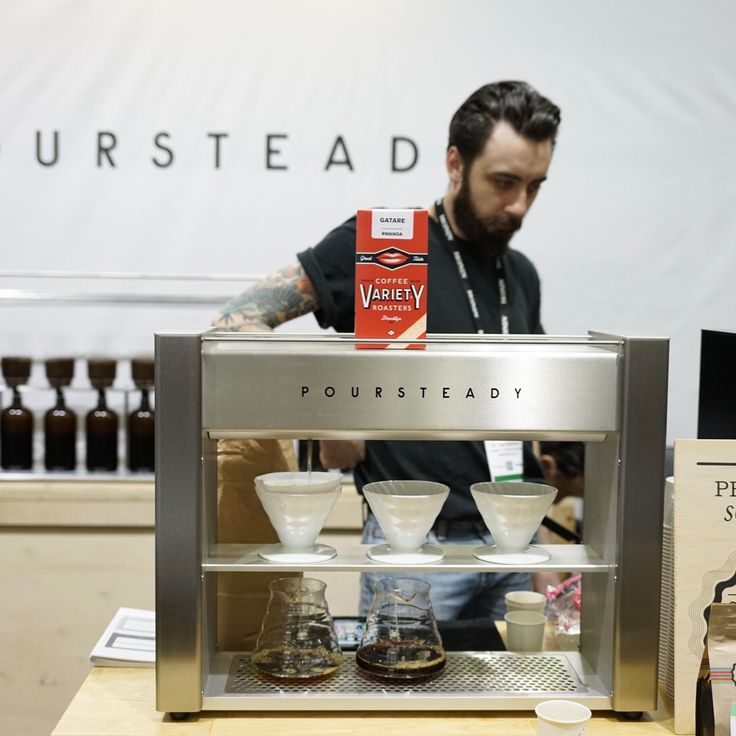 "422 Me gusta, 5 comentarios - Barista Magazine (@baristamagazine) en Instagram: ""You guys have to check out Poursteady at booth #2803 at Expo Seattle! Right now, featuring coffees…"""