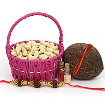 Kaju Basket On Rakhi