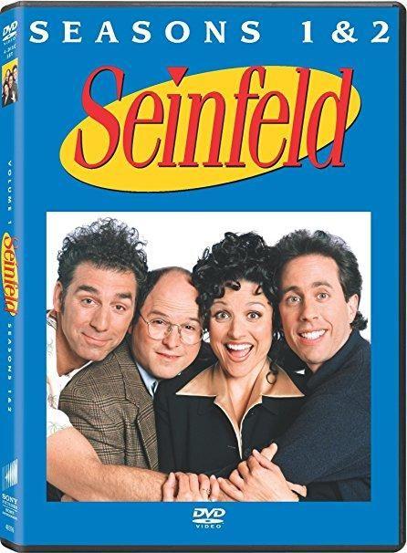 Jerry Seinfeld & Julia Louis-Dreyfus & Tom Cherones-Seinfeld: Season 1 & 2