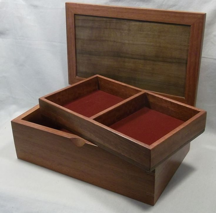 Jarrah and Walnut Jewellery Box