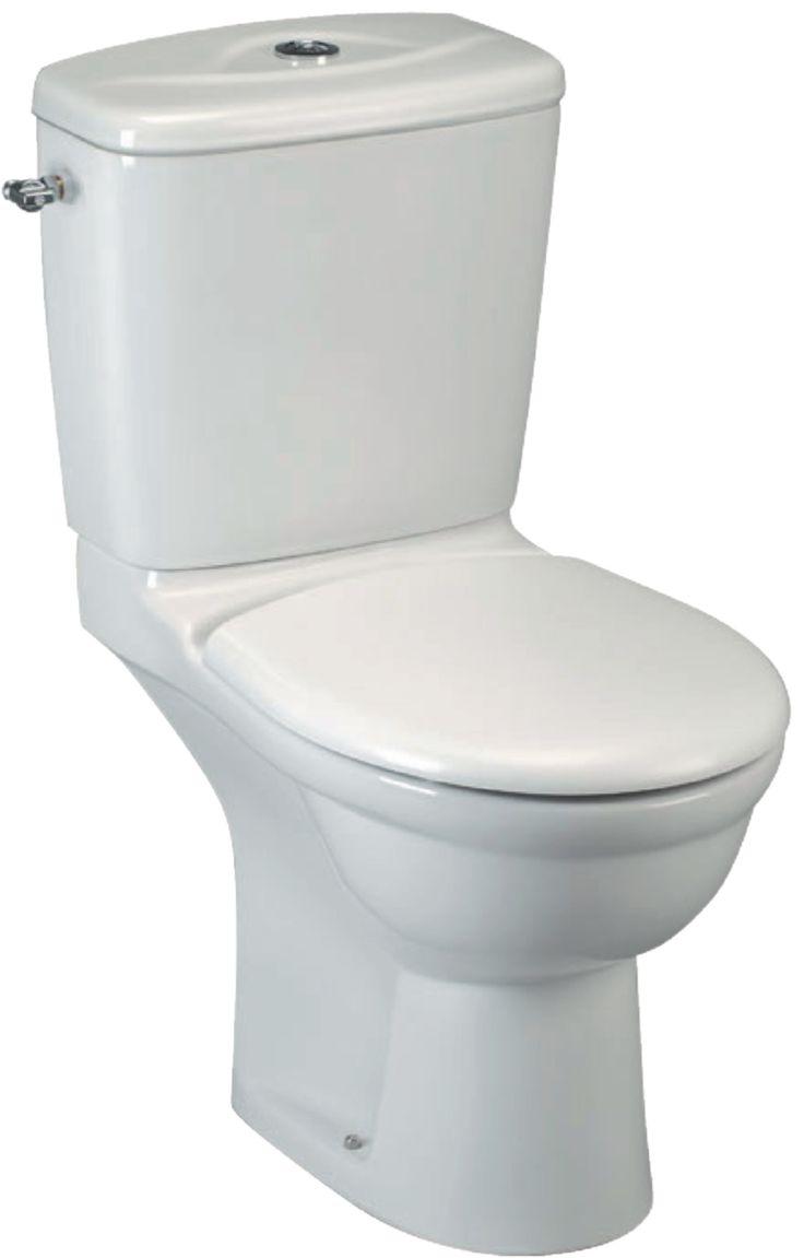Pack WC KHEOPS3 gain de place comprenant : 1 cuvette sortie horizontale, 1 réservoir 3/6L alimentation latérale droite ou gauche et1 abattan - IDEAL STANDARD - Sanitaire  -CEDEO