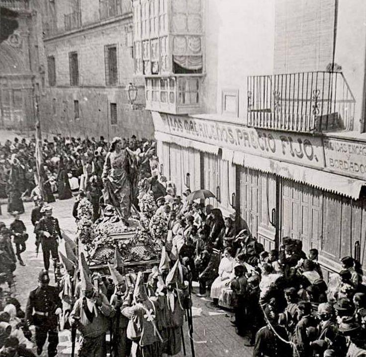 Viernes Santo en Murcia, San Juan, Procesion de los Salzillos C/ Traperia o principe alfonso