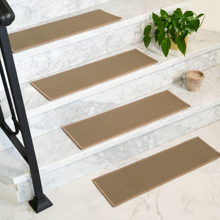 Best Colby Polypropylene Brownish Grey Handmade Stair Treads 400 x 300
