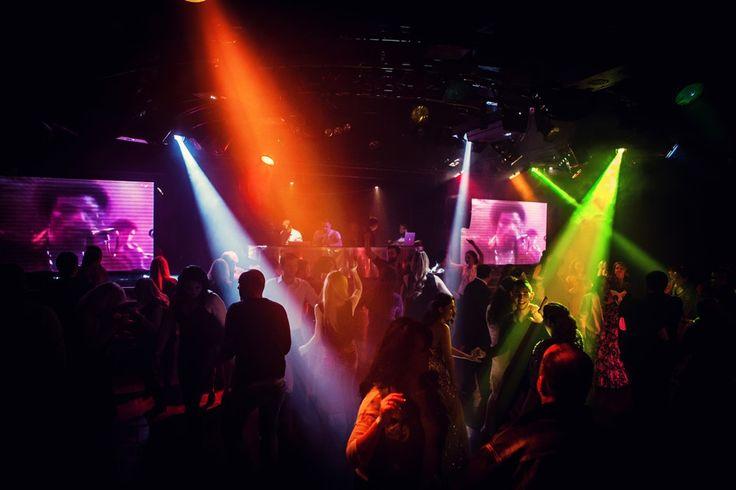Lights, music, dance, friends