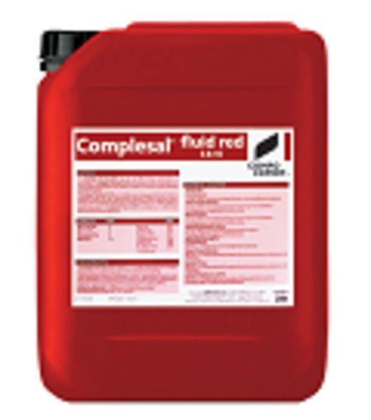 Complesal® fluid red 5-8-10 Σύνθεση: 5% συνολικό άζωτο (ουρικό), 8% P2O5, 10% K2O ,  Ιχνοστοιχεία : 0,01% Β, 0,02% Fe, 0,01% Mn, 0,002% Zn, 0,002% Cu, 0,001% Mo  Ένα υγρό NPK λίπασμα, εμπλουτισμένο με ιχνοστοιχεία. Είναι κατάλληλο για όλες τις καλλιέργειες και είναι ιδιαίτερα αποτελεσματικό στα στάδια των φυτών που απαιτείται υψηλή πρόσληψη φωσφόρου και καλίου.