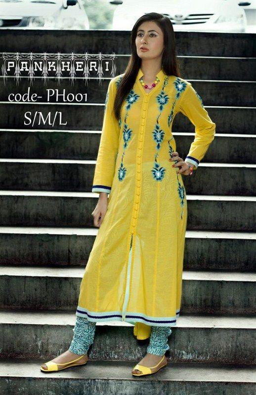 Pankheri Casual Dresses 2013 For Women 010