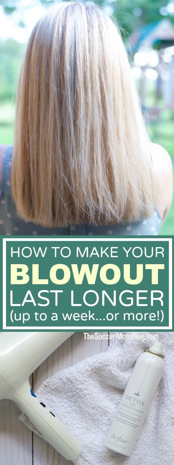 With these 6 hair hacks you'll be able to go longer between washes, keep your hair healthier, make your blowout last longer, and be styled in seconds! #ad #SoWorthIt #SephoraInJCP @jcpenney @sephora