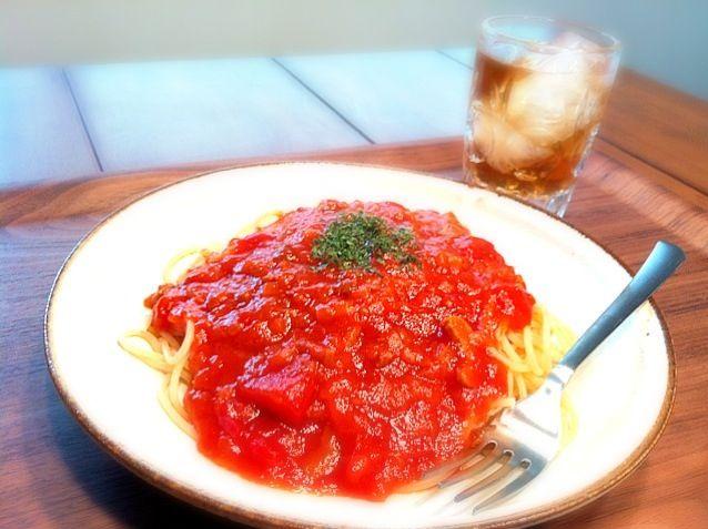 レトルトですがw - 6件のもぐもぐ - ミートソーススパゲティ by SenaYumeco