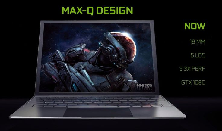 NVIDIA Max-Q Makes Bulky Gaming Notebooks a Thing of the Past - http://vrzone.com/articles/nvidia-max-q-makes-bulky-gaming-notebooks-thing-past/127045.html