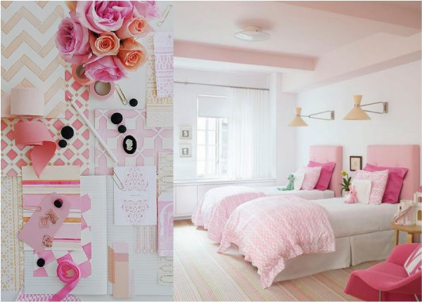 su Pareti Camera Da Letto Rosa su Pinterest  Colori camera da letto ...