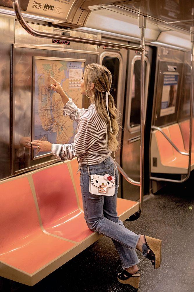 71254bcd1 Christie ferrari wears Furla Hello Kitty mini #crossbody for hot bag alert  review 2018 #handbags