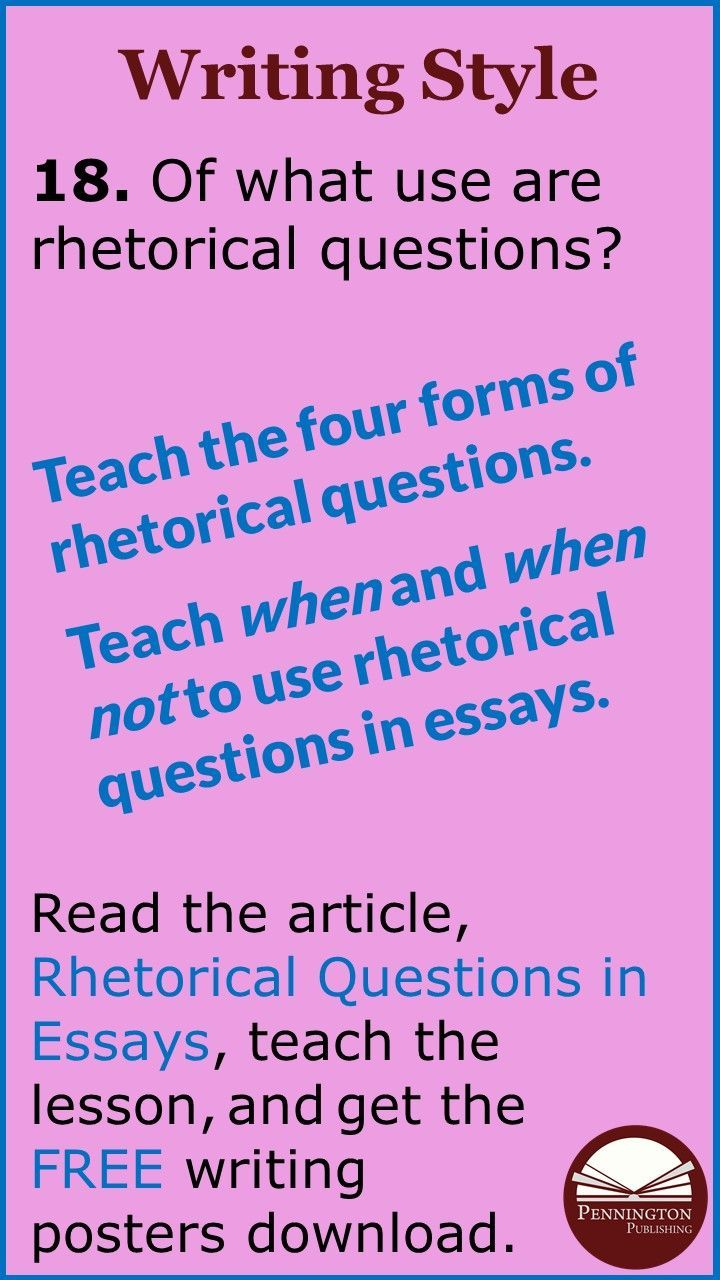 Rhetorical Question In Essay Thi Or That Questions Can You Ask A An